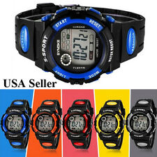New Synoke Digital Electronic Waterproof Child/Boy's/Girl's Sports Watch Watches