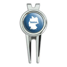 Germany Home Country Golf Divot Repair Tool and Ball Marker