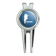 Argentina Home Country Golf Divot Repair Tool and Ball Marker