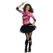 The Muppets Animal Costume Adult Sexy Rock n Roll Drummer Halloween Fancy Dress