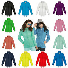 Ladies Lightweight Kagoul Rain Coat Jacket Mac Kagool Cagoule Windproof  Womens