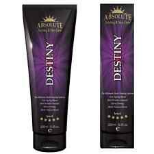 Absolute DESTINY Sunbed Tanning Lotion cream FIRMING Tan Accelerator Intensifier