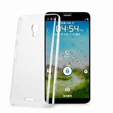 Glossy Crystal Clear Transparent Plastic Hard Case Cover Skin For Mobile Phone