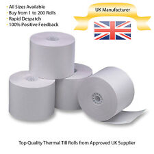 57x38mm Thermal Paper Till/Epos Printer Receipt Rolls: Buy From 20 to 200 Rolls