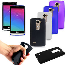Ultra Thin Matte TPU Gel Soft Rubber Case Cover for LG Leon 4G LTE C40 H340N
