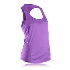 Sugoi Jackie Womens Purple Running Sports Gym Sleeveless Vest Tank Top New