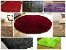 Twilight Rug Deep Shaggy Warm Rug Rectangle Round Assorted Colours