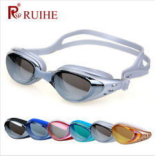 Adult Non-Fogging Swimming Goggles Swim Glasses Adjustable UV Protection