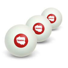 Poland Home Country Table Tennis Ping Pong Ball 3 Pack