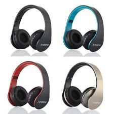 Andoer Foldable Wireless Stereo Bluetooth Headphone Headset Hands-free With Mic