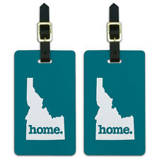 Idaho ID Home State Luggage Suitcase ID Tags Set of 2