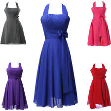SUMMER CHEAP! Bridesmaid Dress Short MINI Prom Dresses Cocktail Party Ball Gowns