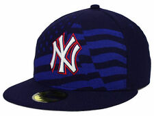 Official MLB 2015 New York Yankees July 4th New Era 59FIFTY Fitted Hat