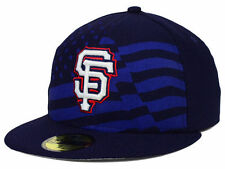 Official MLB 2015 San Francisco Giants July 4th New Era 59FIFTY Fitted Hat