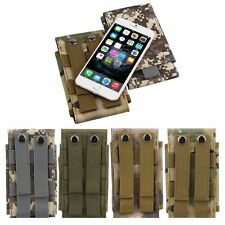 UNIVERSAL ARMY TACTICAL BAG MOBILE PHONE BELT LOOP HOOK COVER CASE POUCH HOLSTER