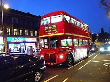 London Transport Buses, Sets of 10 6x4 Colour and B+W Prints