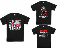 Mens Zombie Killing Clothing Funny Graphic T Shirts Tees Sizes S to XXL