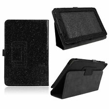 """7"""" For Acer Iconia Tab A110 Fashion Glitter Folio PU Leather Case Cover W/ Stand"""