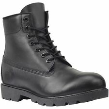 Timberland Mns 6 Inch WP Basic Black Smooth Leather Style#10069, TB010069001