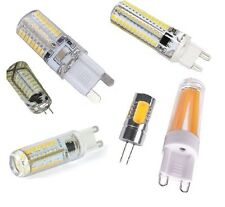 G4 G9 LED Light Bulbs White Crystal Warm Energy Saving JC Halogen Replacement