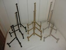 Metal Tripod Display Easels - choose color and size