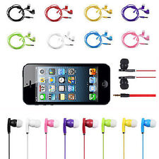 In-Ear 3.5mm Stereo Earbuds Earphone Headphone Universal For iPhone MP3 MP4 iPod