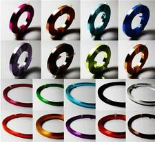 5mm x 1mm FLAT ALUMINIUM JEWELLERY CRAFT WIRE 17 COLOUR CHOICE
