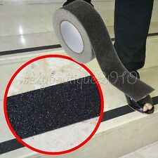 Home Flooring Non Slip Stair Treads Black Safety Anti Skid Tape High Traction