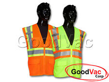 Commander CSVT-203 Class 2 Surveyor Safety Protective High Visibility Mesh Vest