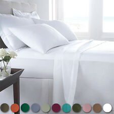 6 Piece: Refael Collection Special Edition 1800 Egyptian Comfort Bed Sheet Set