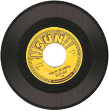ROCKABILLY BILLY RILEY SUN 313 NO NAME GIRL/DOWN BY THE RIVERSIDE NEAR MINT 45