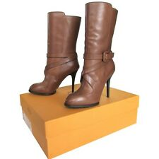 TOD'S Tods stivali luxurious fashion design leather boots элитные сапоги $680
