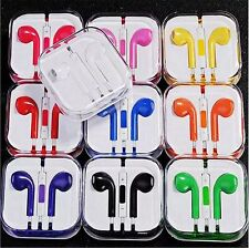 Handsfree Headphone Earphone Mic vol for Apple iPad iPod iPhone 6 6+ 5 5S 5C 4S