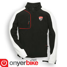 Ducati Corse 2015 15 Textile Windproof Jacket Mid Layer Thermal Black White Red