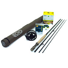 "NEW - Echo Carbon XL 4wt 8'6"" Fly Rod Outfit - FREE SHIPPING!"