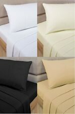 LUXURY 100% EGYPTIAN COTTON FLAT SINGLE DOUBLE KING SUPER KING PERCALE SHEETS!