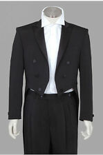 100%New Poly Black Mens Tail Tuxedo, MULTI SIZES, Adjustable Pant, Great Quality
