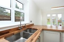 Prime Walnut Solid Wood Worktop, 40mm staves, All sizes available, Free Delivery
