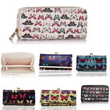 Ladies Women's Fashion Quality Purse Wallet Butterfly Print Coin Bag Purses Gift