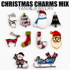 CHARMS Living Memory Locket Necklace Pendant Floating Christmas costume Charm