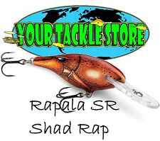 Rapala SR07 Shad Rap Iaconelli UV LIVE Pick Color&Qty Factory Direct SR NEW 2017