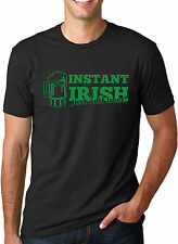 Instant Irish Just Add Beer T Shirt Funny St Patricks Day Shirt
