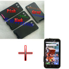BE Housing Battery Back Door Cover Case + Film for Motorola Defy MB525
