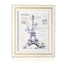 "3D WOODEN PARIS PHOTO PICTURE POSTER FRAME HANGING WALL 4""x6"" 5""x7"" 6""x""8 8""x10"""
