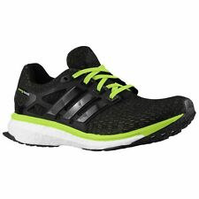 Adidas Energy Boost Reveal Men's Running Shoes - Black / Green -- MANY SIZES