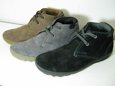 Mens Caterpillar Crump Mid Suede Leather Casual Lace Up Boots