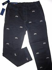 Polo Ralph Lauren embroidered motorcycle design straight fit chino men's pants