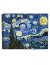 DecorArts Starry Night by Van Gogh Giclee Print Stretched Canvas Gallery Wrapped