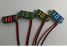 "0.28"" DC Digital Voltmeter Panel Mount LED Voltage Volt meter Green 2.50~30V EPS"