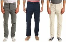 Levis Pants Mens Regular Fit Tapered Leg Flat Front 100% Cotton Twill Chinos